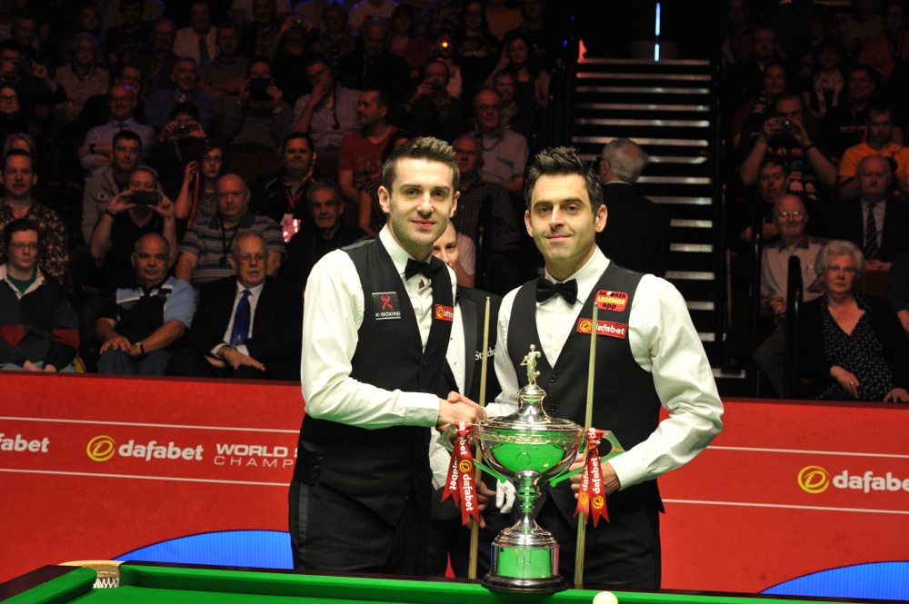 Mark Selby and Ronnie O'Sullivan contested last year's World Championship final