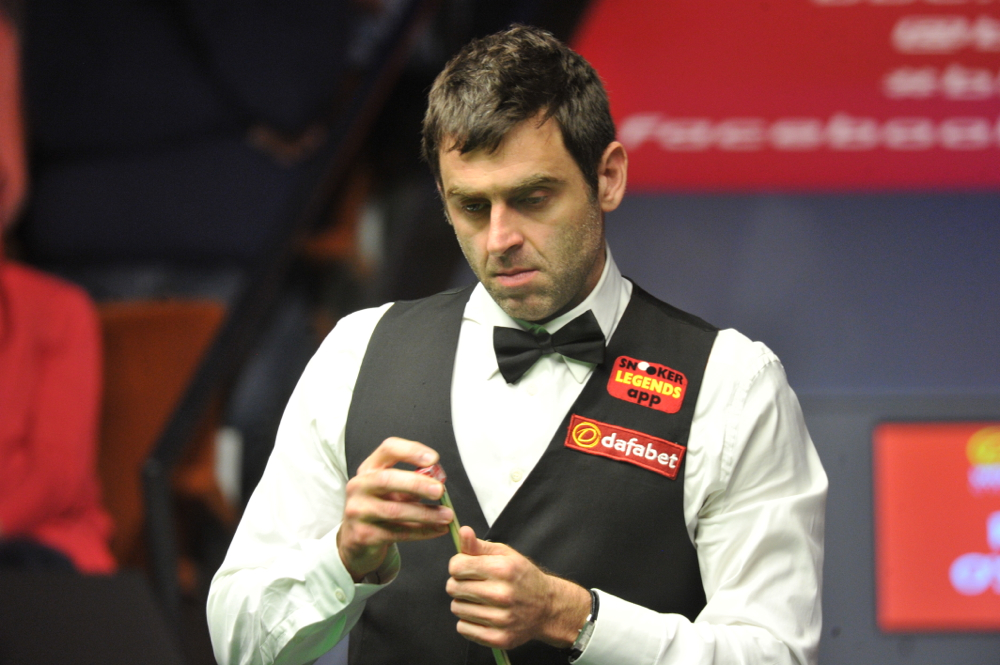 Ronnie O'Sullivan: a player and TV pundit in Berlin