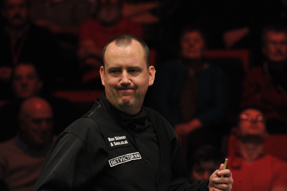 Mark Williams: at 39 eligible to play in the World Seniors Championship
