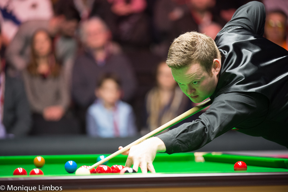 Shaun Murphy: getting his kicks in Beijing