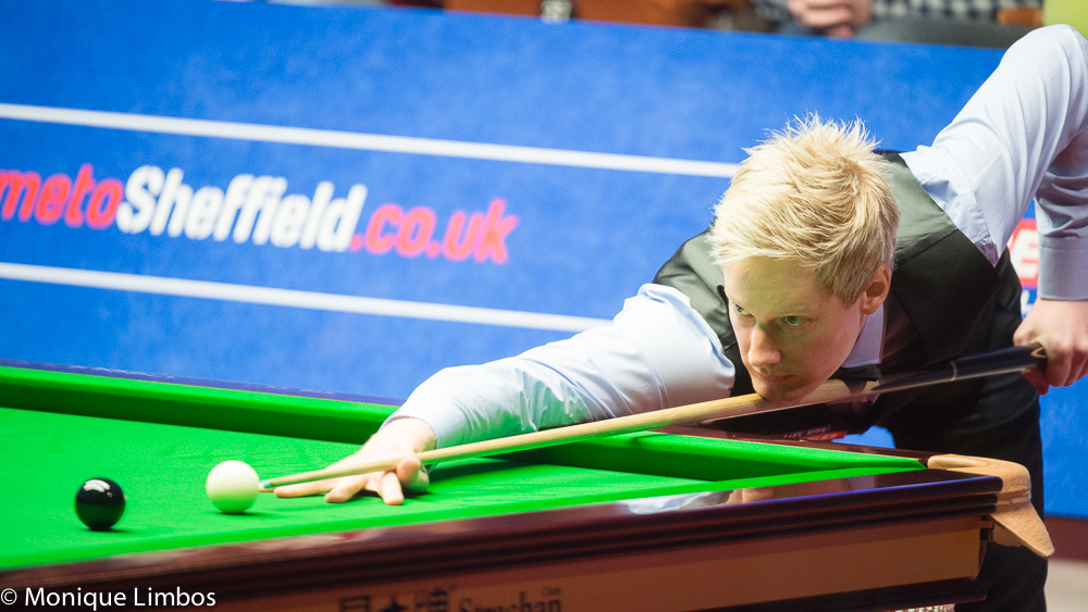Neil Robertson: playing superbly to reach quarters
