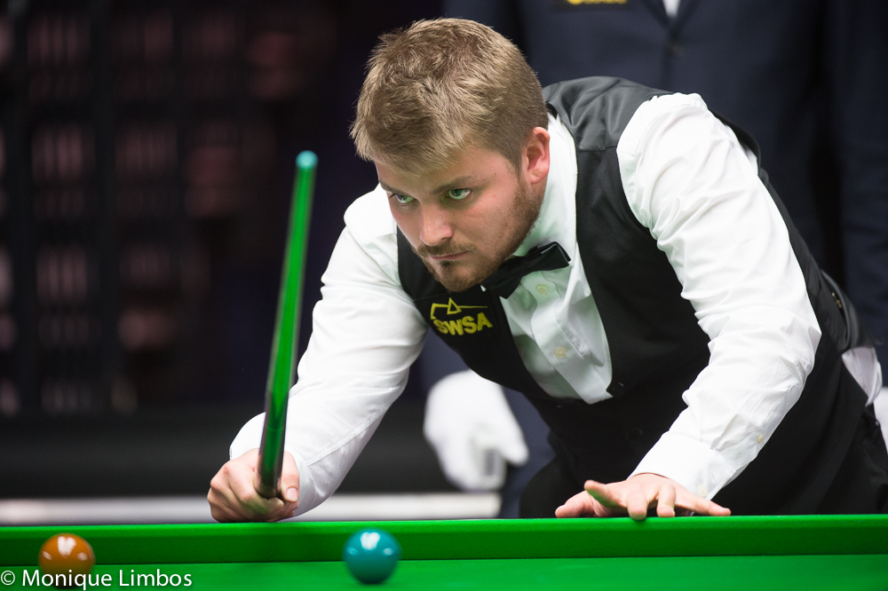 Michael White: eyeing a semi-final place