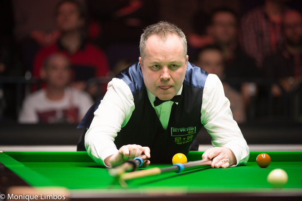 John Higgins: chasing yet another title