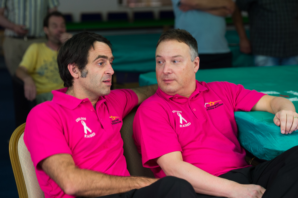 Ronnie O'Sullivan and Darryn Walker: old friends meet in final