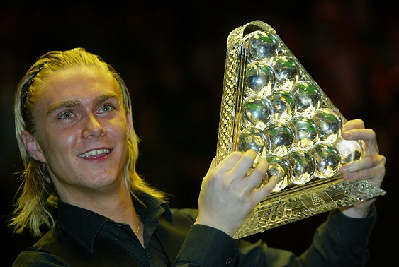 Paul Hunter won the Masters three times in four years, each time in a deciding frame finish