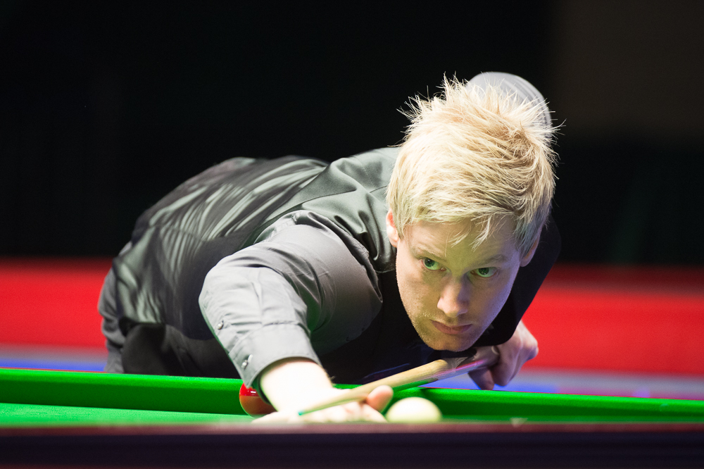 Neil Robertson: former UK champion and this season's Champion of Champions