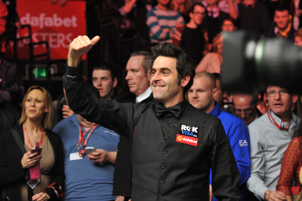 O'SULLIVAN MAKES IT 802 NOT OUT IN MASTERS WARM-UP