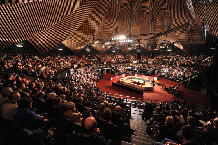 BERLIN AND THE TEMPODROM TAKE CENTRE STAGE — Inside Snooker