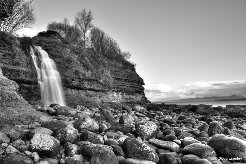 Waterfall at Beul an Teaghlaich