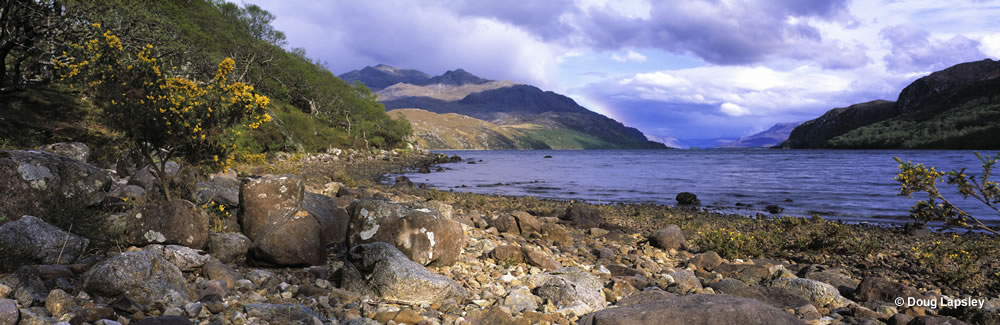 Loch Maree from Tollie Farm Beach