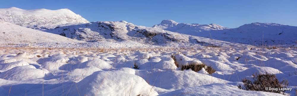 Snowfield and Creag na Saobhaidhe - Torridon