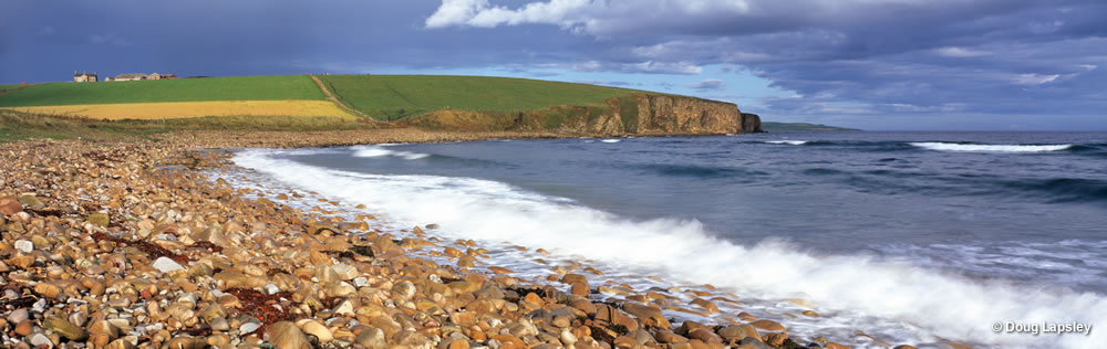 Taracliff Bay - Orkney mainland