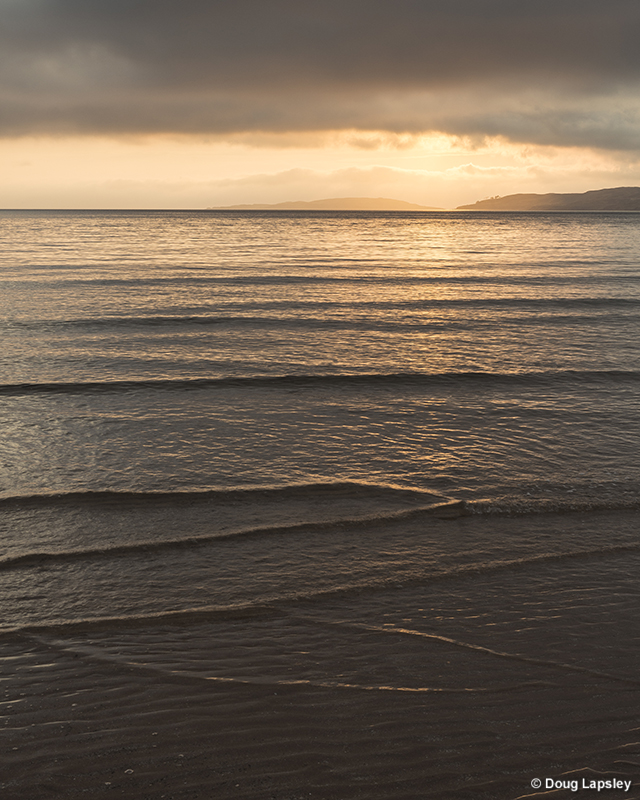 From the Gairloch beach