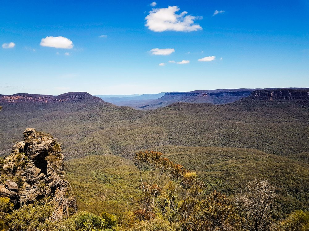 No words needed I guess.  Cahill's Lookout, Blue Mountains National Park
