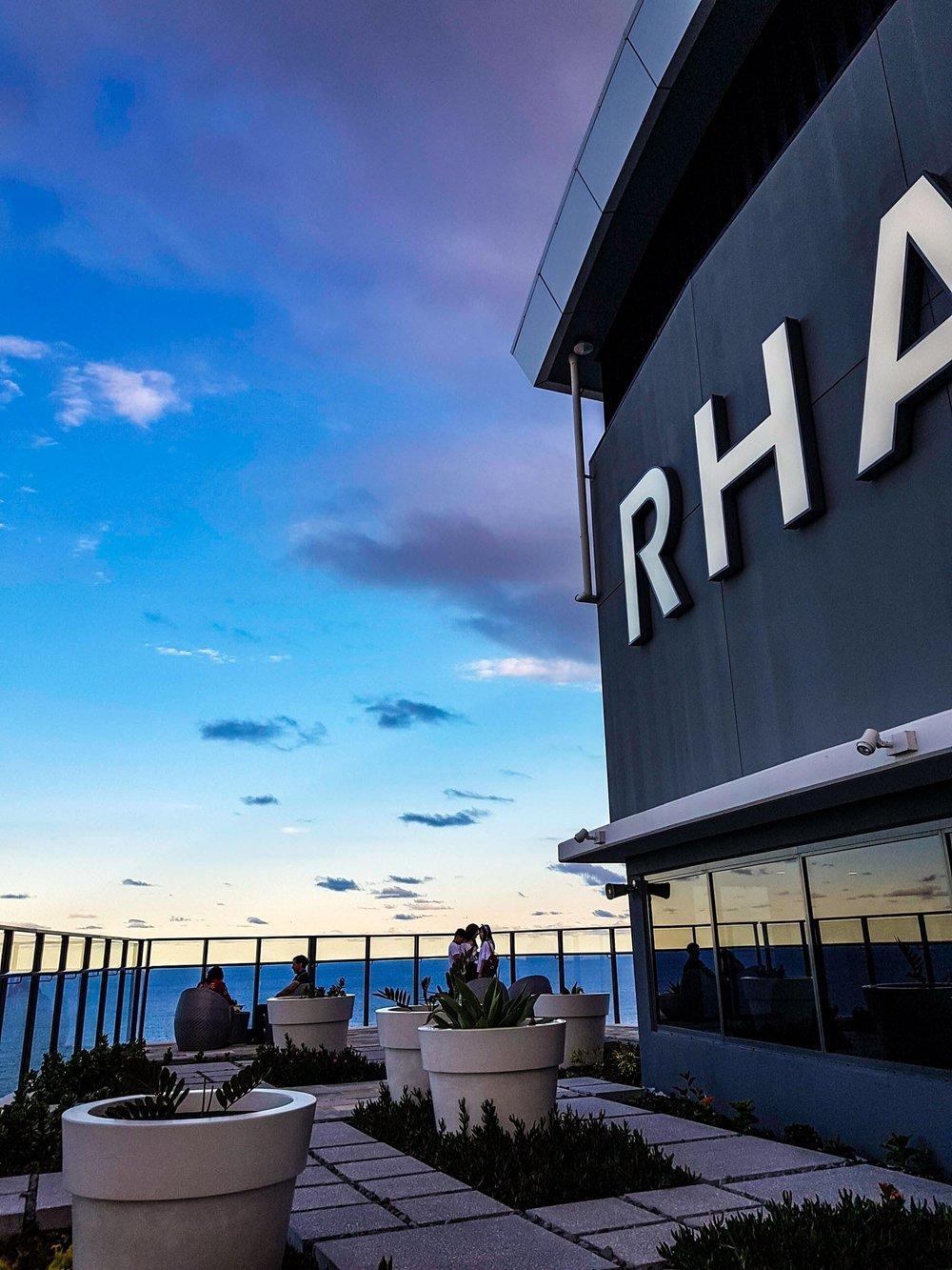 Rooftop, Rhapsody Resort