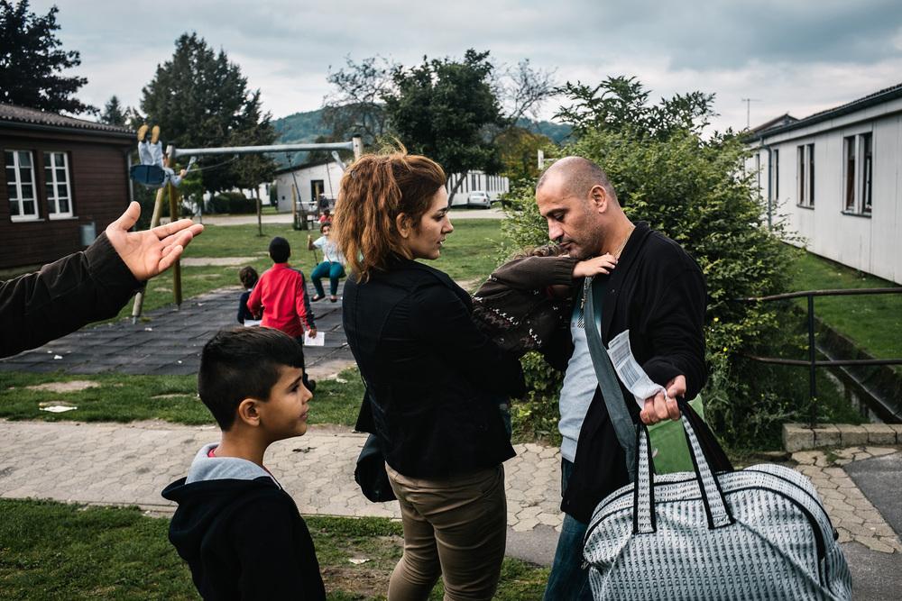 Syrische Flüchtlinge inFriedland - Reportage für Süddeutsche Zeitung