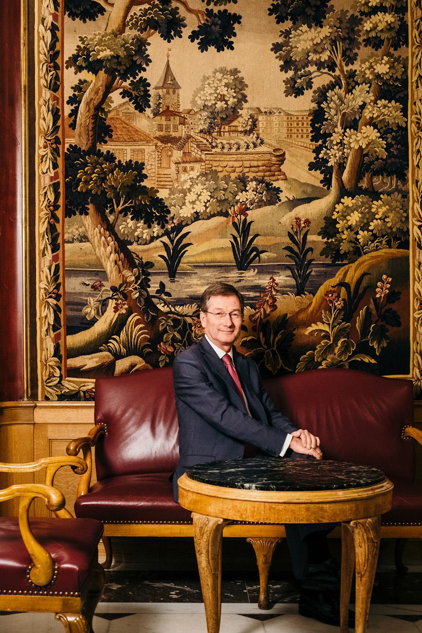 Wilhelm Luxem - Hoteldirektor 'Baur au Lac'