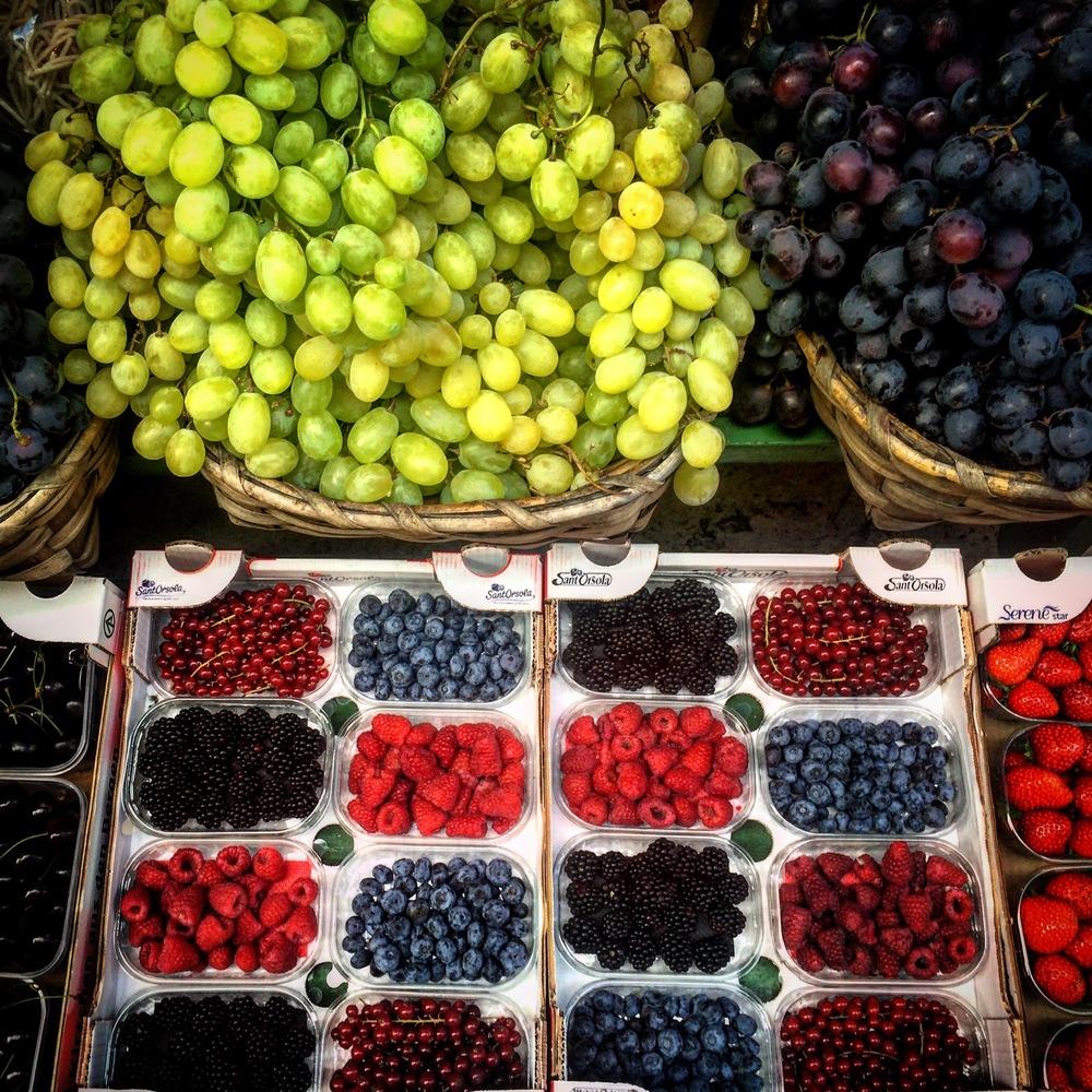 Fruit in Siena.