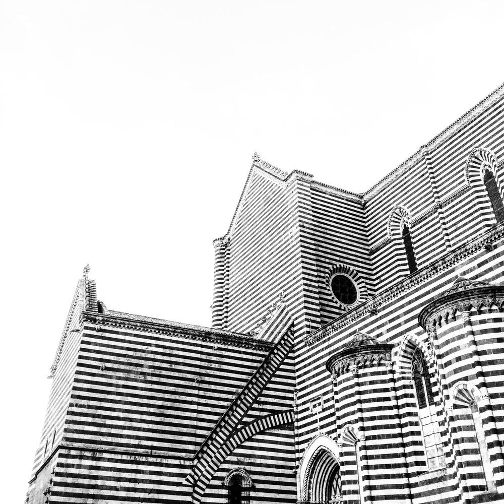 The Duomo of Orvieto.