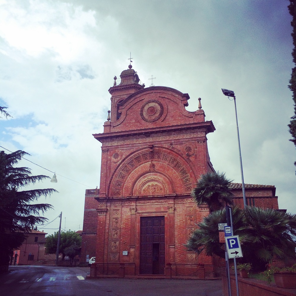 Church in Villastrada.