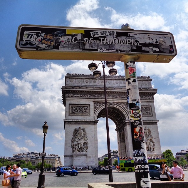 christopherdickey :     #Paris #France directions to the #archoftriumph #today