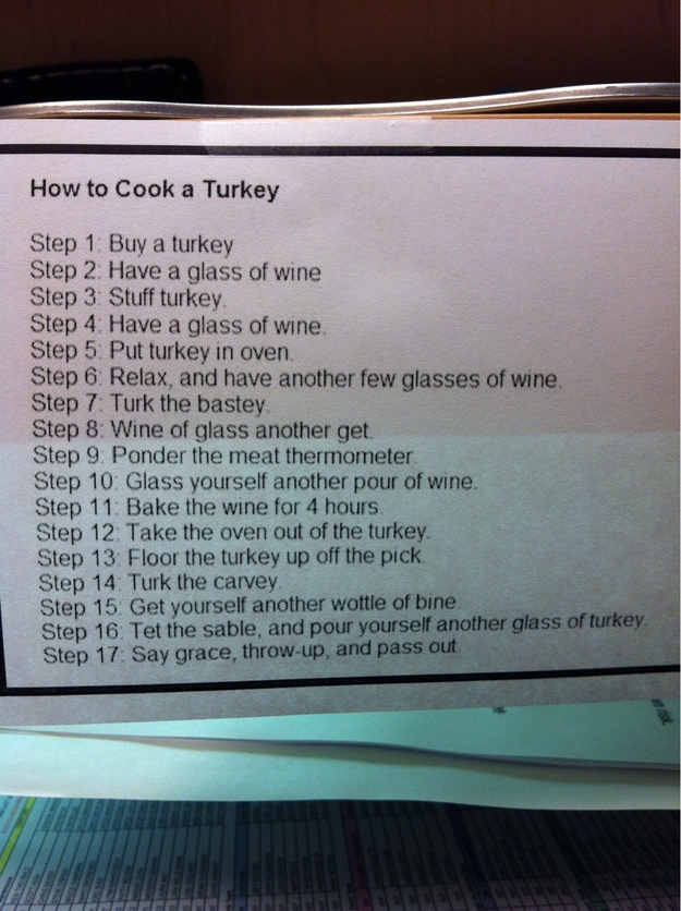 buzzfeed :     Thanksgiving  just got easier.