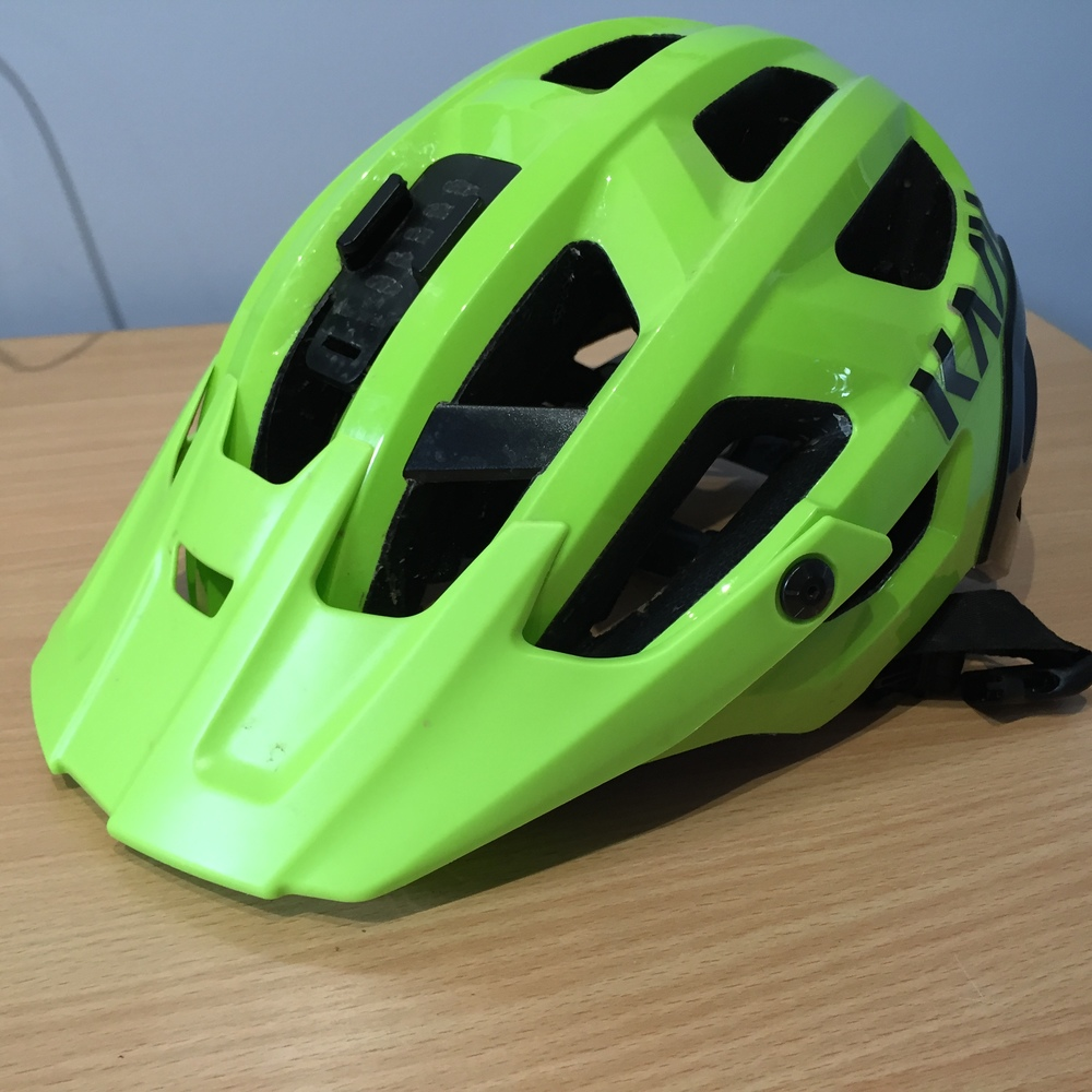 Kask Rex, with gopro mount