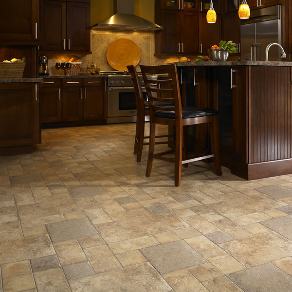 Floor coverings village paint and decorating for Laminate floor coverings for kitchens