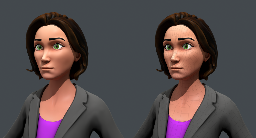 Jackie - Real-time Character
