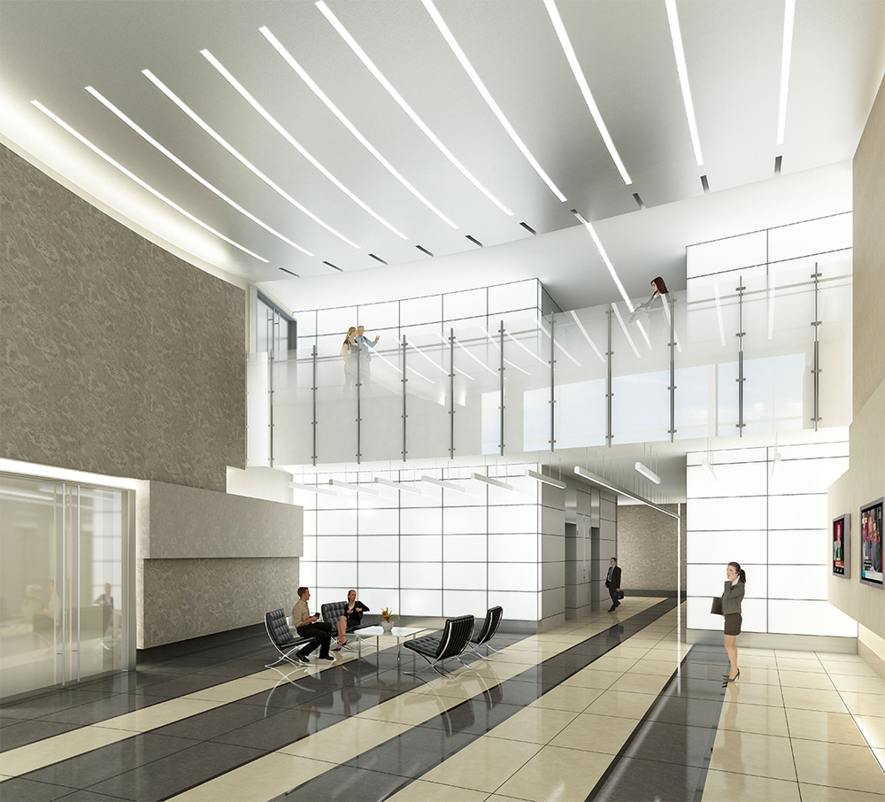 Project: Dulles Station   Architect:  Cooper Cary    View: Lobby
