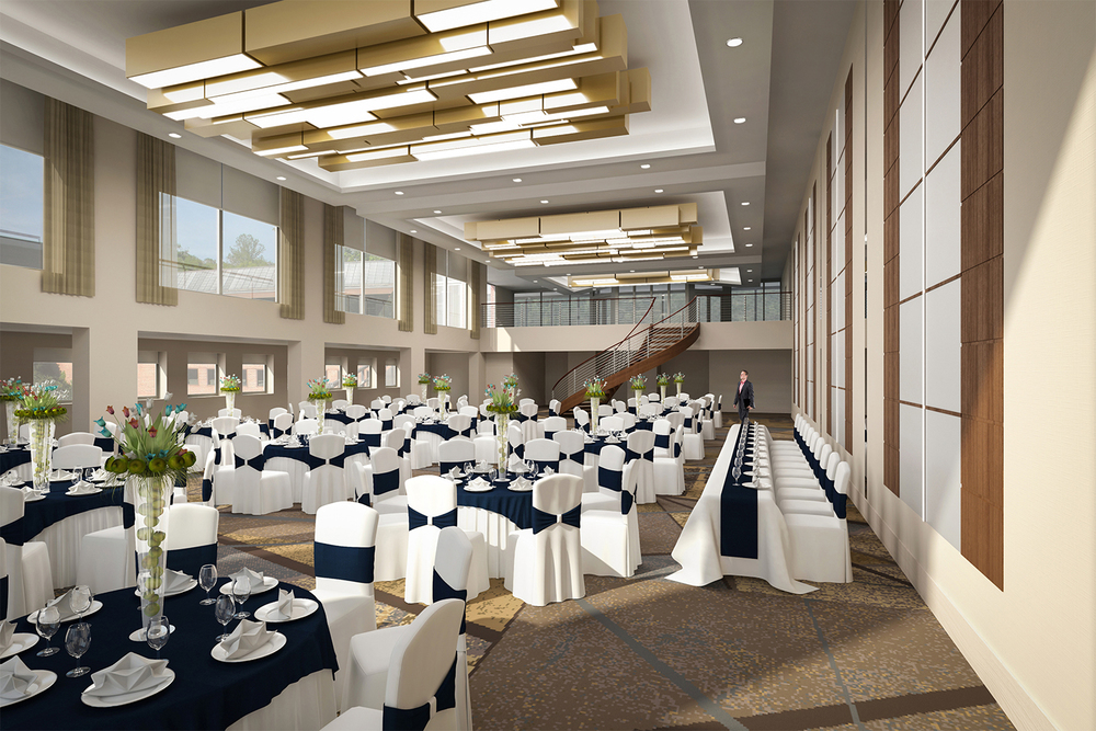Project: Palisades Hotel & Conference Center   Architect:  Thomas Hamilton & Associates    View: Ballroom A