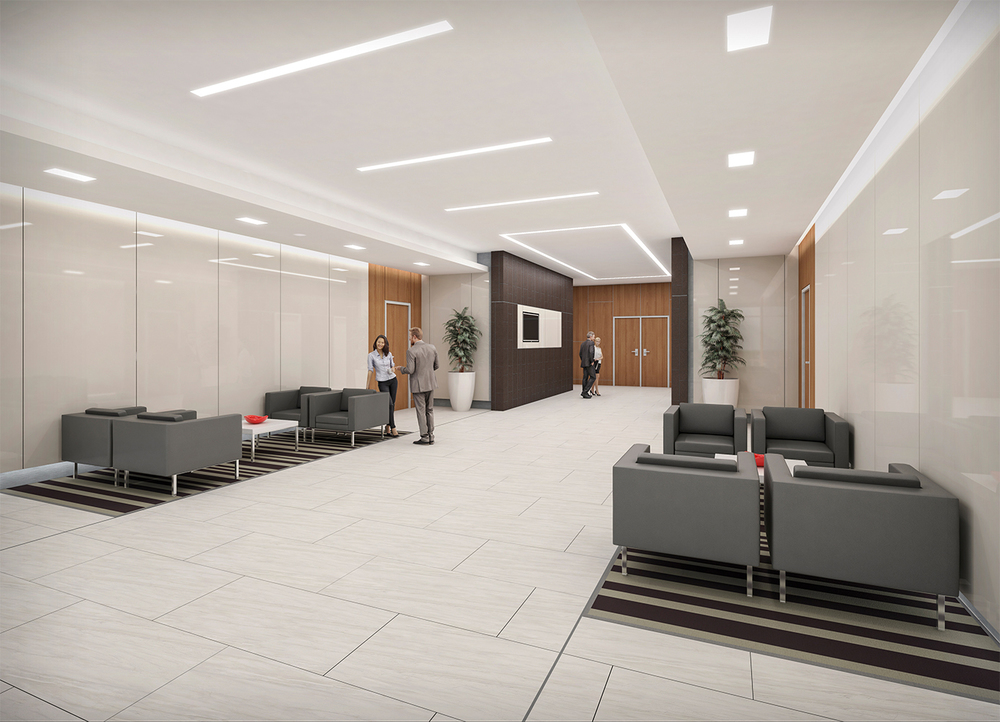 Project: Meridian   Architect:  310 Architecture & Interiors    View: Lobby 01
