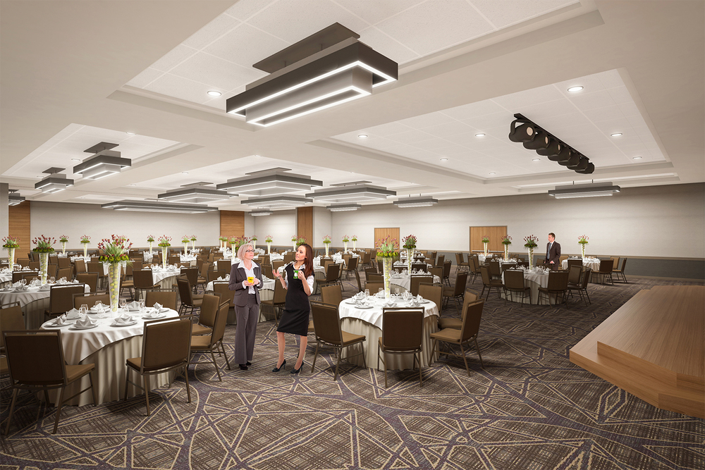 Project: Palisades Hotel & Conference Center   Architect:  Thomas Hamilton & Associates    View: Ballroom B