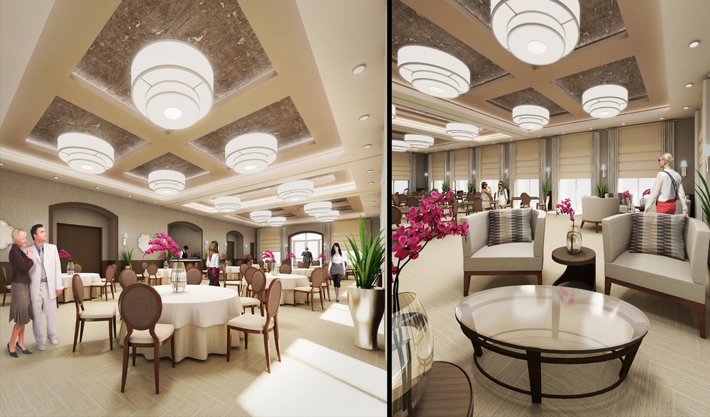 Project: The Point at Aventura   Architect:  RWB Linares Architecture    View: Banquet Hall