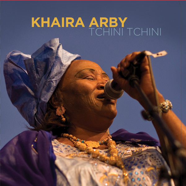 """Khaira Arby - """"Tchini Tchini"""" a 3 track EP of songs that appear on the album """"Gossip"""".  Recorded in Brooklyn NY in 2011, these tracks form the basis of the full album """"gossip"""" which is the English translatioin of the Songhai words """"Tchini Tchini"""". Featuring Khaira's full band including Abellow Yattara of Al Bilali Soudan.   CLE2012002"""