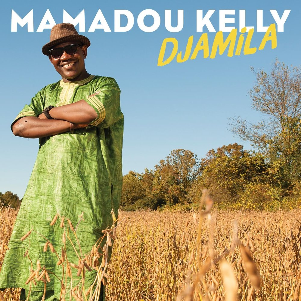 Mamadou Kelly  -  Djamila   Kelly's smooth voice and deceptively effortless guitar quickly charm. Steeped in rich Malian music, Kelly's style combined with Ban Kai Na made this album a Top of the World selection by Songlines Magazine.   CLE012