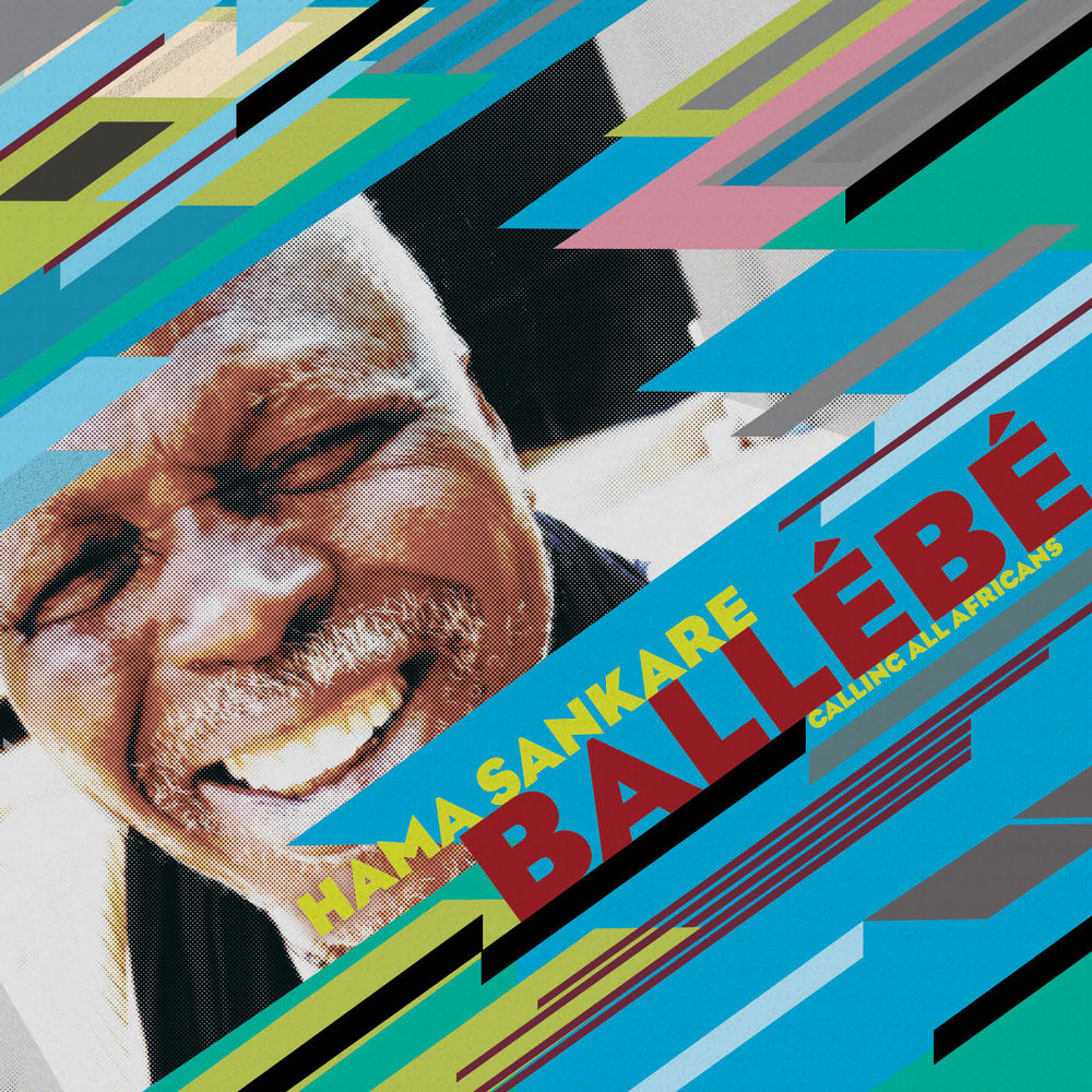 "Hama Sankare  -  Ballebe (Calling all Africans)   Alpha Ousmane ""Hama"" Sankaré, is a legend. He has anchored the bands of many great artists of Mali: Ali Farka Toure, Afel Bocoum, le Troupe Regionale de Niafunké, l'Orchestre de Gao, Songhoy Allstars, and Mamadou Kelly.  He can be heard on many of the seminal recordings of the music of Mali. He is the master of and defined the playing style of contemporary calabash percussion. Unbelievably, Ballébé is his first album in his own name! It is a combination of new material and old classics.   CLE018"