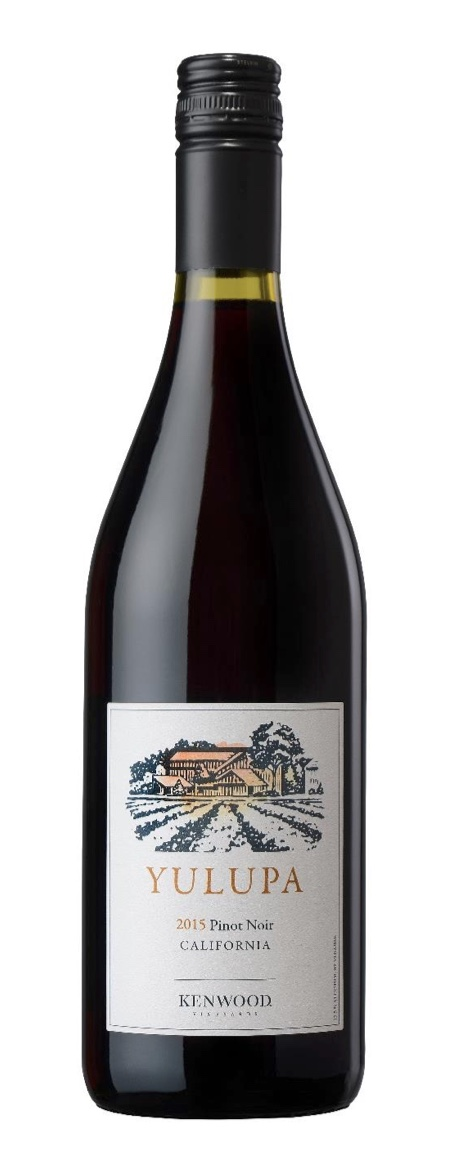 Pinot Noir with aromas of cherries and blackberry preserves.
