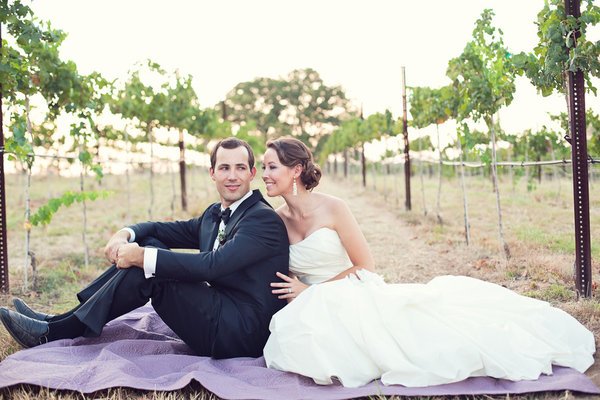 bride and groom, cool wedding photography, winery, petal pushers, style me pretty