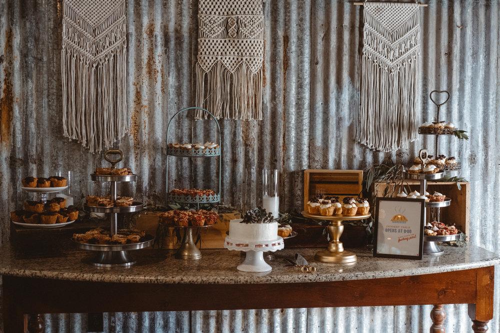 Assorted Dessert Stand