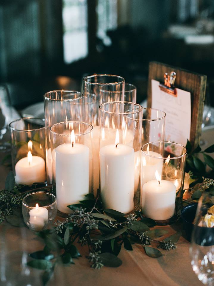 Assorted Pillar Candle