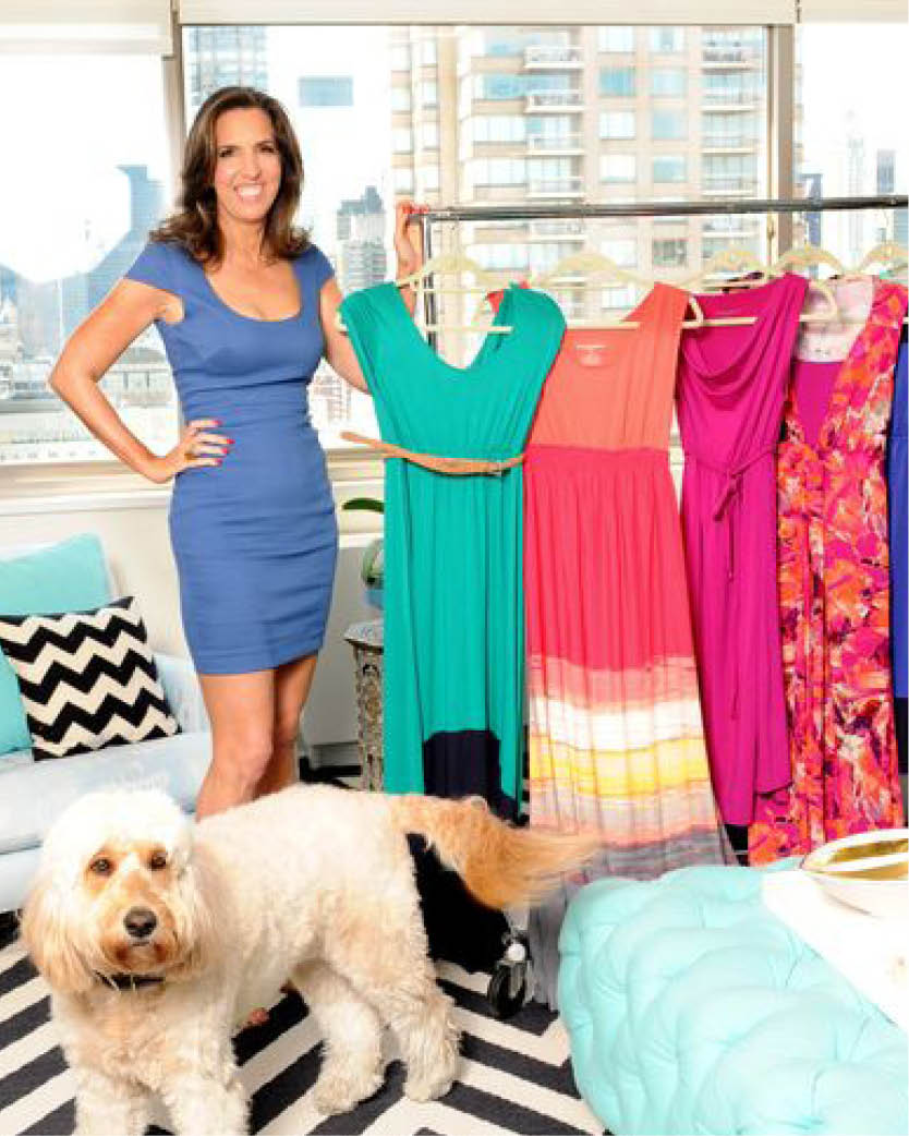 2009 Liz joined her friend Stefanie Greenfield on HSN with limited edition Liz Lange designs for Curations. The collection sold out in hours and inspired Liz to create an exclusive women's' wear line for HSN.