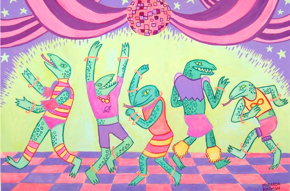 Reptilian Dance Party