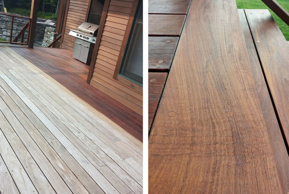 Vermontu0027s Winters Take A Toll On Any Exterior Wood. Do You Have A Wood Deck  Or Porch That Looks A Bit Shabby? Join Us And You Will Learn About  Different ...