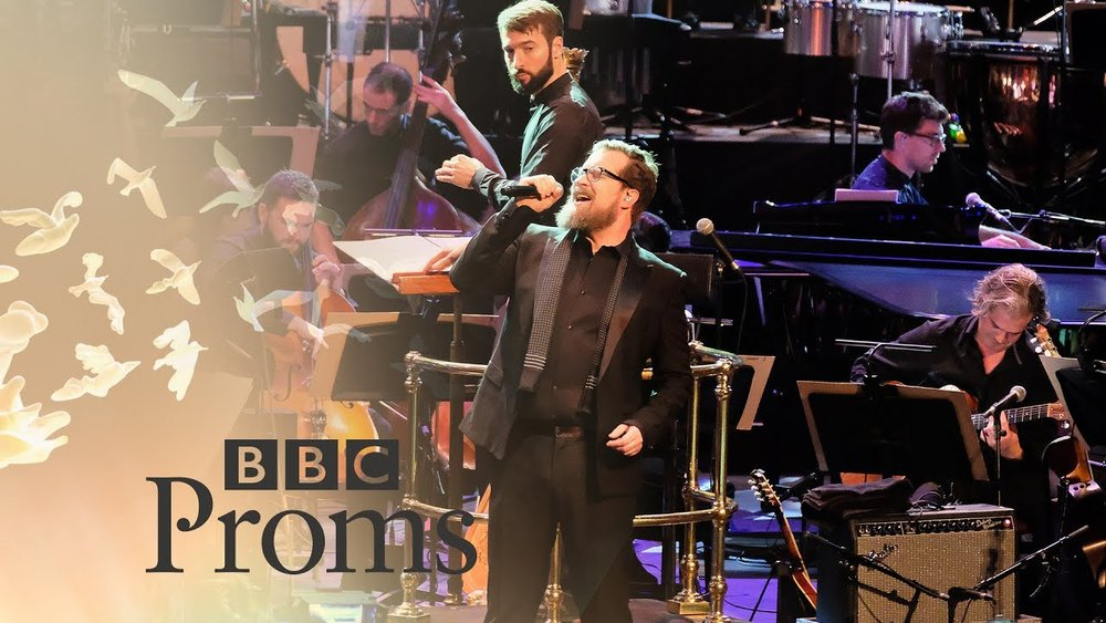 LCV on BBC Late Night Proms with The Heritage Orchestra, Jarvis Cocker, John Grant, Richard Hawley and Susanne Sundfor