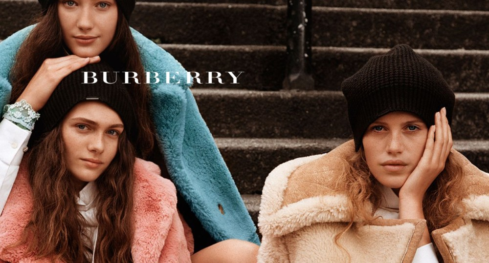 LCV's collaboration with Amber Run was used for Burberry's Autumn-Winter 17 international campaign