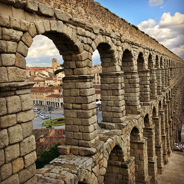 #spain #castilleyleon #segovia #aqueductodesegovia #alcazardesegovia