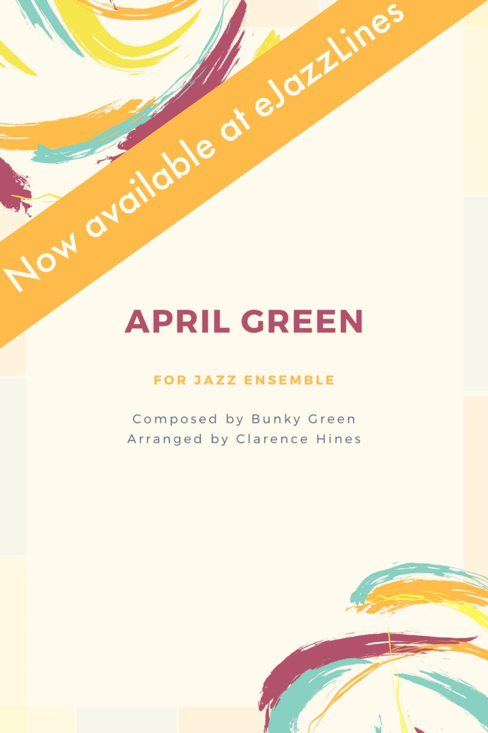 April Green - This recently published arrangement was commissioned for Alto saxophonist Bunky Green and the University of North Florida Jazz Ensemble I, and is the title track from a CD/DVD that featured the UNF Jazz Ensemble I and UNF Jazz Faculty.