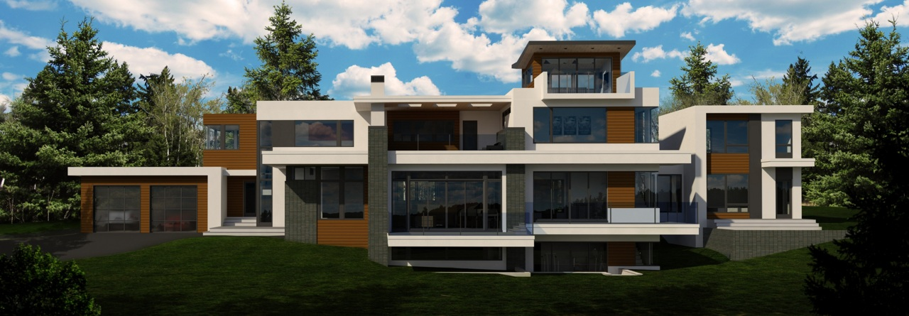 New rendering of the Springbank House!