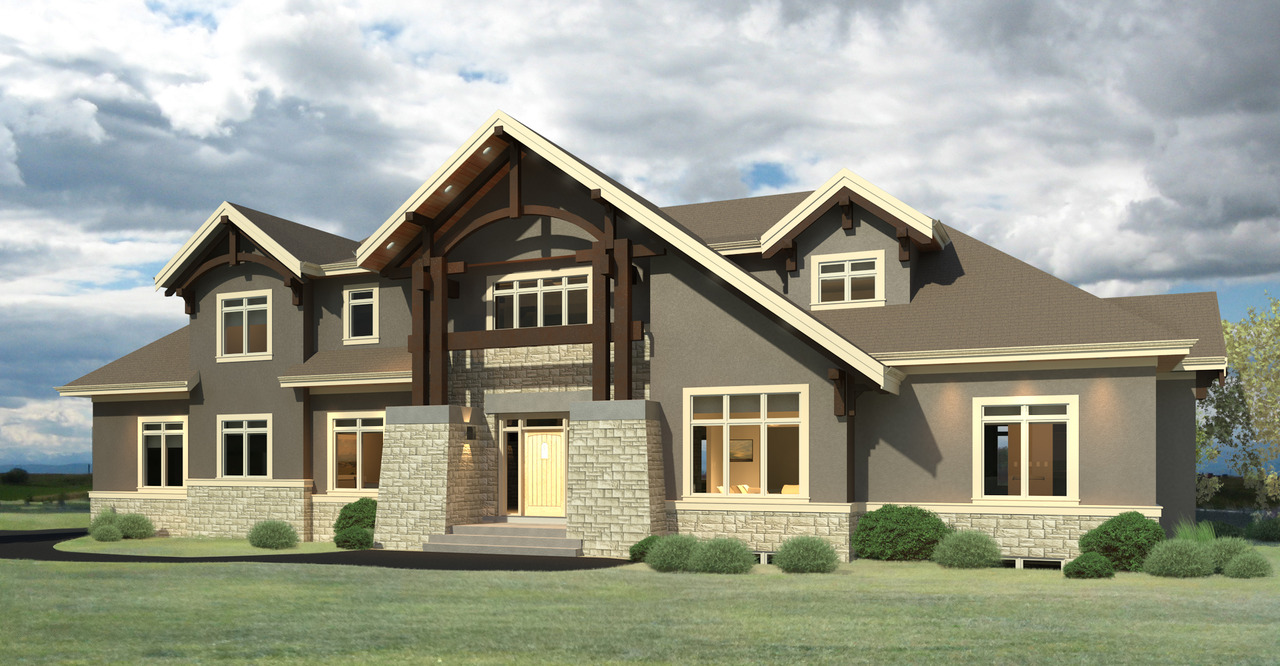 Willowcreek Showhome Rendering